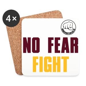 NO FEAR FIGHT - Untersetzer (4er-Set)