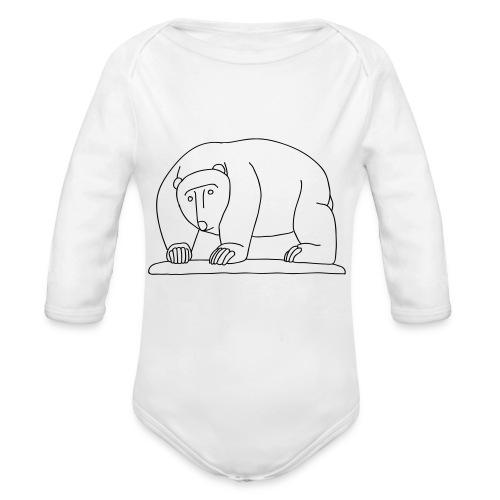 Moabiter Bären Brücke - Baby Bio-Langarm-Body