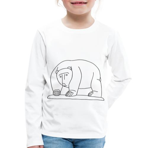 Moabiter Bären Brücke - Kinder Premium Langarmshirt