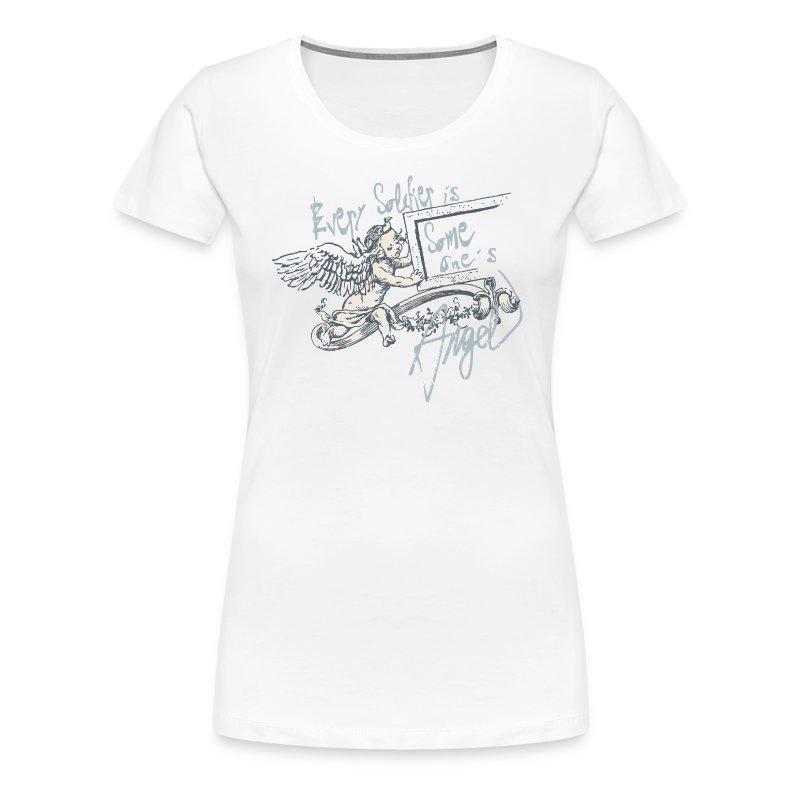 Every soldier is... (bleu) - Frauen Premium T-Shirt