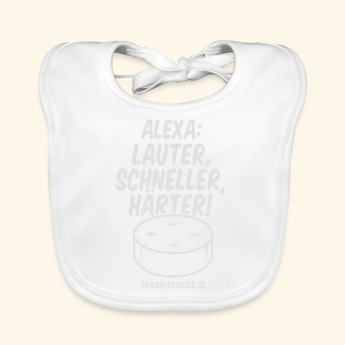 Alexa: lauter - Baby Bio-Lätzchen