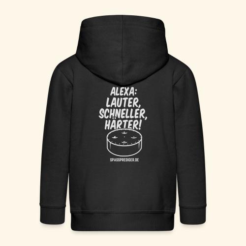Alexa: lauter - Kinder Premium Kapuzenjacke