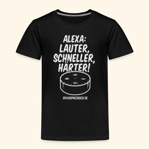 Alexa: lauter - Kinder Premium T-Shirt