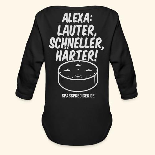 Alexa: lauter - Baby Bio-Langarm-Body