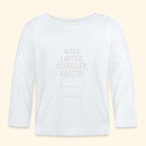 Alexa: lauter - Baby Langarmshirt