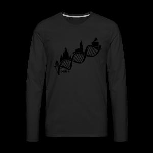 Dresdner DNA Shirt - Männer Premium Langarmshirt