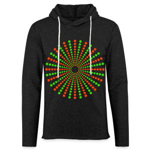 Hippikreisstern Shirt - Leichtes Kapuzensweatshirt Unisex