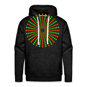 Hippikreisstern Shirt - Männer Premium Hoodie