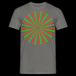 Hippikreisstern Shirt - Männer T-Shirt
