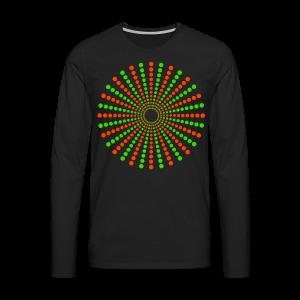 Hippikreisstern Shirt - Männer Premium Langarmshirt