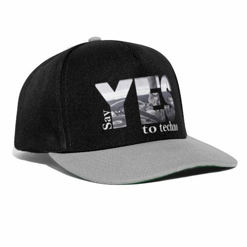 Say YES to Techno - Snapback Cap