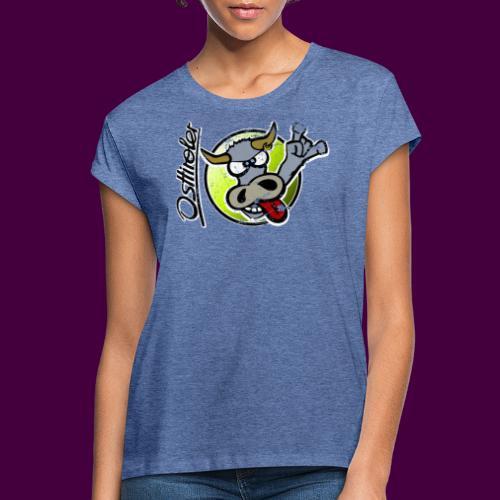 Osttiroler Grauvieh Logo Shirt - Frauen Oversize T-Shirt
