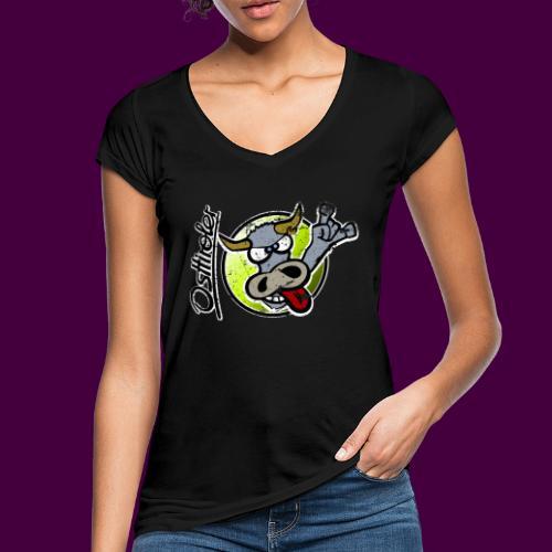 Osttiroler Grauvieh Logo Shirt - Frauen Vintage T-Shirt