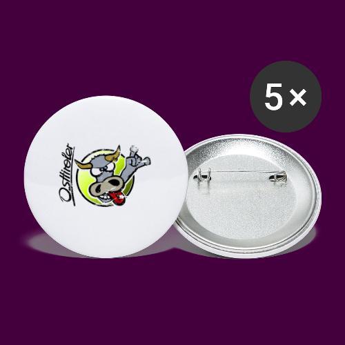 Osttiroler Grauvieh Logo Shirt - Buttons mittel 32 mm (5er Pack)