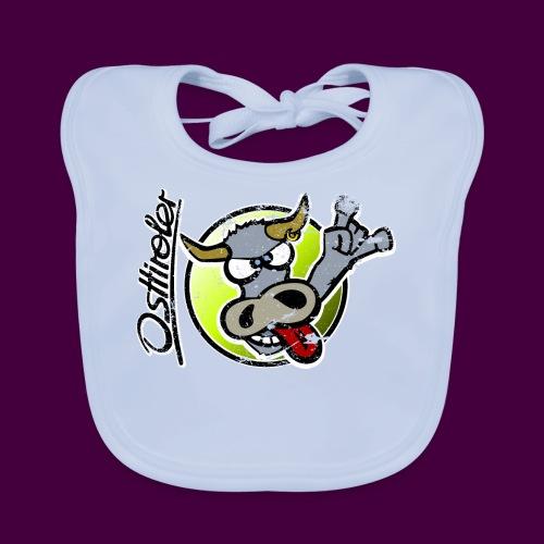 Osttiroler Grauvieh Logo Shirt - Baby Bio-Lätzchen