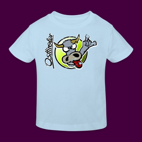 Osttiroler Grauvieh Logo Shirt - Kinder Bio-T-Shirt
