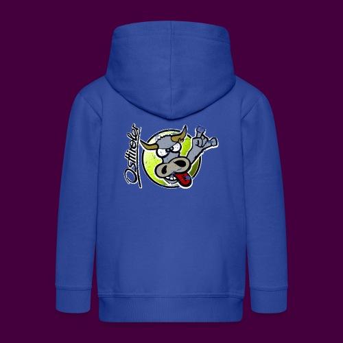 Osttiroler Grauvieh Logo Shirt - Kinder Premium Kapuzenjacke