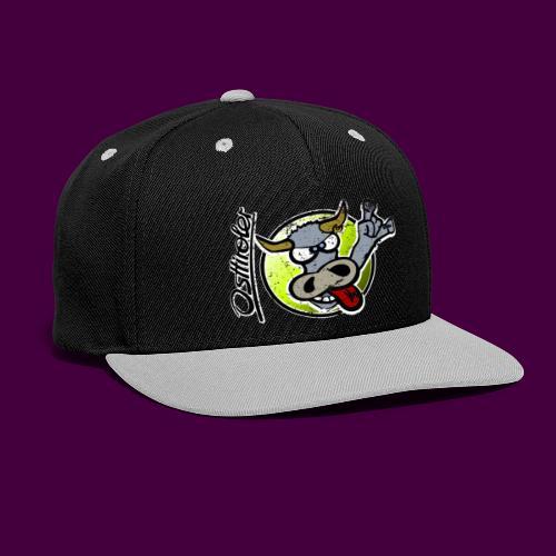 Osttiroler Grauvieh Logo Shirt - Kontrast Snapback Cap