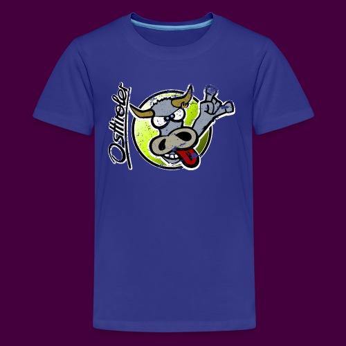 Osttiroler Grauvieh Logo Shirt - Teenager Premium T-Shirt