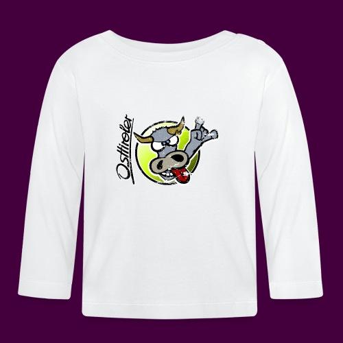 Osttiroler Grauvieh Logo Shirt - Baby Langarmshirt