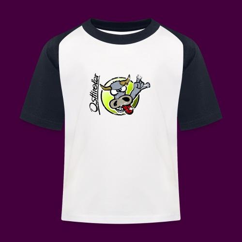 Osttiroler Grauvieh Logo Shirt - Kinder Baseball T-Shirt