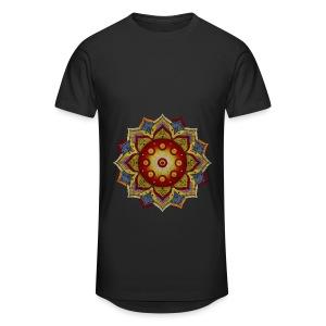 Handpan - Hang Drum Mandala natural - Männer Urban Longshirt