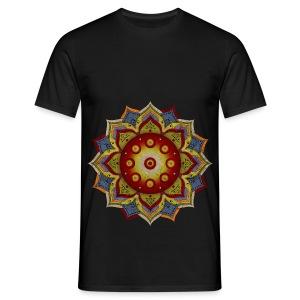 Handpan - Hang Drum Mandala natural - Männer T-Shirt