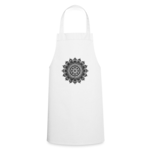 Handpan - Hang Drum Mandala gray - Kochschürze