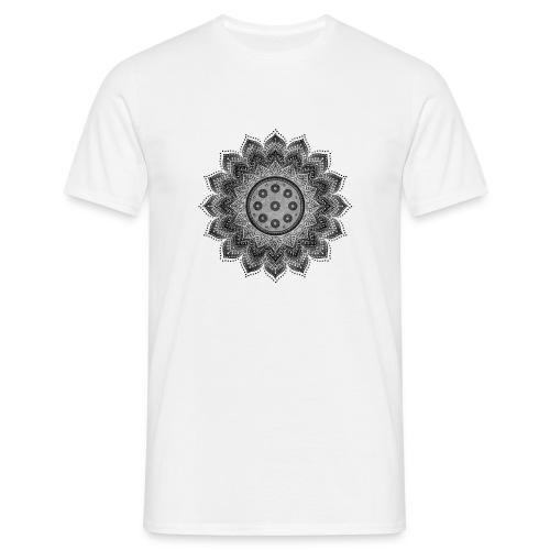 Handpan - Hang Drum Mandala gray - Männer T-Shirt