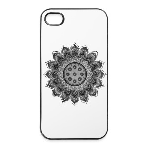 Handpan - Hang Drum Mandala gray - iPhone 4/4s Hard Case
