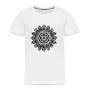 Handpan - Hang Drum Mandala gray - Kinder Premium T-Shirt