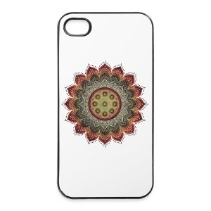Handpan - Hang Drum Mandala earth colors - iPhone 4/4s Hard Case