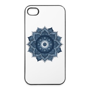 Handpan - Hang Drum Mandala blue - iPhone 4/4s Hard Case