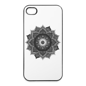Handpan - Hang Drum Mandala grey - iPhone 4/4s Hard Case