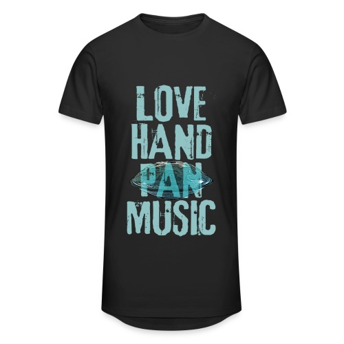 LOVE HANDPAN MUSIC - hang drum - Männer Urban Longshirt