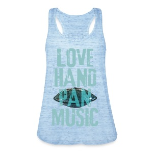 LOVE HANDPAN MUSIC - hang drum - Frauen Tank Top von Bella
