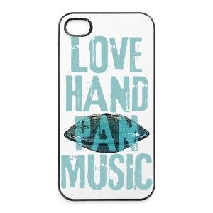 LOVE HANDPAN MUSIC - hang drum - iPhone 4/4s Hard Case