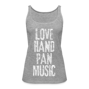 LOVE HANDPAN MUSIC - fractal white - Frauen Premium Tank Top