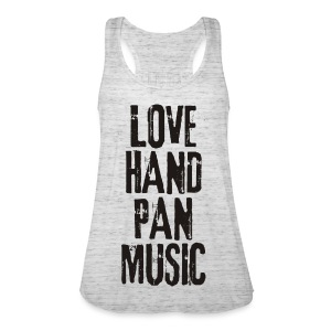 LOVE HANDPAN MUSIC - black - Frauen Tank Top von Bella