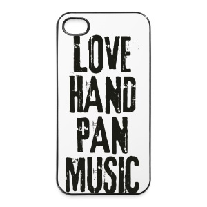 LOVE HANDPAN MUSIC - black - iPhone 4/4s Hard Case