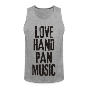 LOVE HANDPAN MUSIC - black - Männer Premium Tank Top