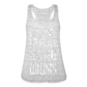 I LOVE TO PLAY HANG DRUMS - fractal white - Frauen Tank Top von Bella