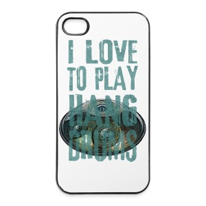 I LOVE TO PLAY HANG DRUMS - handpan - iPhone 4/4s Hard Case