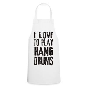 I LOVE TO PLAY HANG DRUMS - black - Kochschürze