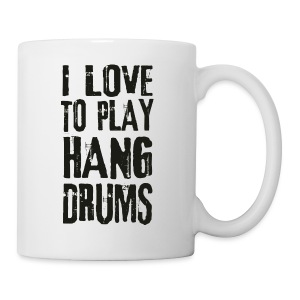 I LOVE TO PLAY HANG DRUMS - black - Tasse