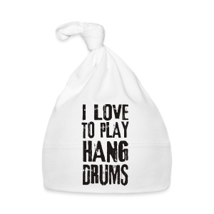 I LOVE TO PLAY HANG DRUMS - black - Baby Mütze