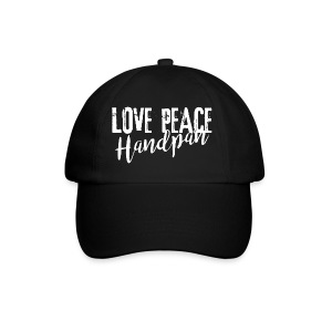 LOVE PEACE Handpan white - Baseballkappe