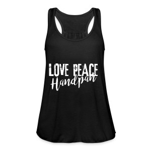 LOVE PEACE Handpan white - Frauen Tank Top von Bella