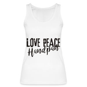 LOVE PEACE Handpan black - Frauen Bio Tank Top von Stanley & Stella