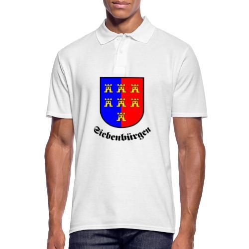 Tasse Siebenbürgen mit Sachsenwappen - Männer Poloshirt